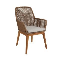 """Плетеное обеденное кресло """"Hassel"""""""
