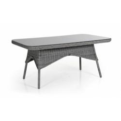 """Стол """"Evita grey"""" обеденный, 150 см, цвет серый"""