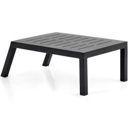 """Приставной стол из алюминия """"Belfort"""", цвет черный"""