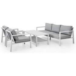 """Садовая мебель из алюминия """"Belfort & Chelles"""", цвет белый"""
