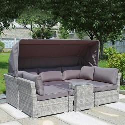 """Плетеная мебель """"AFM-320G Grey"""""""