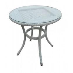 "Стол ""Alice"", d 80 см, цвет серый"