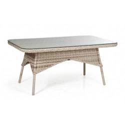 """Стол """"Evita beige"""" обеденный, 150 см, цвет бежевый"""