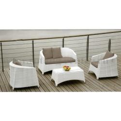 "Плетеная мебель ""Orient white"""