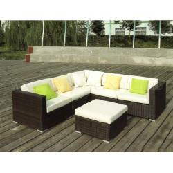 """Плетеная мебель """"Barbados Lounge (Макассарский Эбен)"""""""