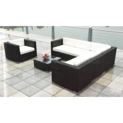 """Плетеная мебель """"Barbados Lounge (Черный Графит)"""""""