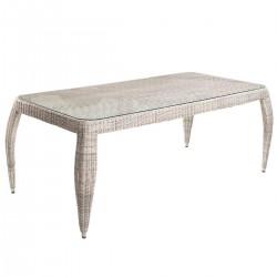 """Плетеный стол """"Haga"""", 192x100 см."""