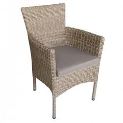 "Кресло ""Capri"", штабелируемое, цвет натур."
