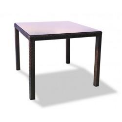 """Плетеный стол """"Milano"""", 90х90 см, цвет коричневый"""