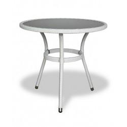 """Стол """"Lotus"""", d 70 см, цвет белый"""