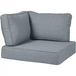 Battleford, подушка на угол, цвет голубой