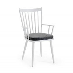 """Кресло """"Alvena"""", белое"""