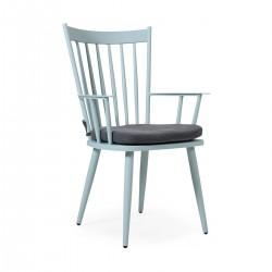 "Кресло ""Alvena"", светло-голубое"