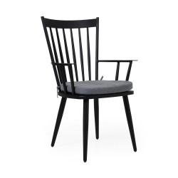 """Кресло """"Alvena"""", черное"""