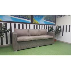 Плетеный диван «Louisiana» mocco , 215 см