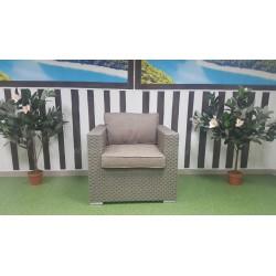 Плетеное кресло «Louisiana» mocco&beige