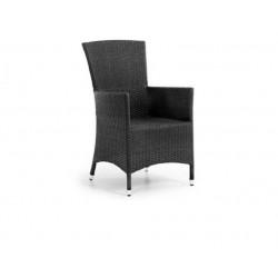 Плетеное кресло «Nina» black