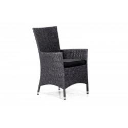Плетеное кресло «Nina» grey
