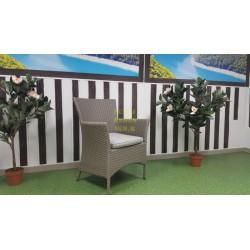 Плетеное кресло «Nina» mocco