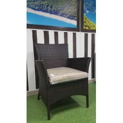 Плетеное кресло «Nina» Royal brown