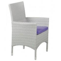 Плетеное кресло «Nina» white