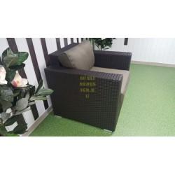 Плетеное кресло «Acoustic» brown