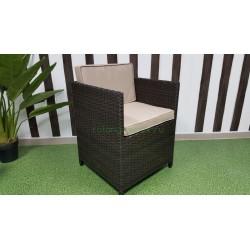 Плетеное кресло «Barbados» brown