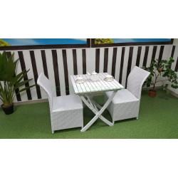 Плетеная мебель «Arizona» 2 white