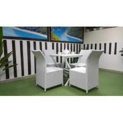 Плетеная мебель «Arizona» 4 white