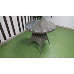 Плетеный стол «Samurai» D80 natur