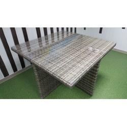 Плетеный стол «Barbados» 120х120 см
