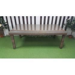 Плетеный стол «Infinity» 200х100 см