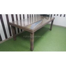 Плетеный стол «Infinity» 150х90 см