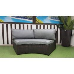 Плетеный диван «Galaxy», 2-хместный модуль
