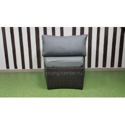 Плетеный диван «Galaxy», 1-местный модуль
