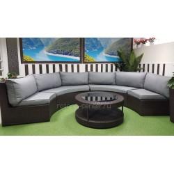 Плетеная мебель «Galaxy» lounge 5