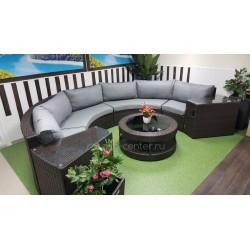 Плетеная мебель «Galaxy» lounge 7