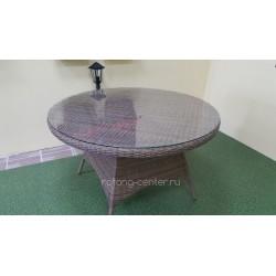 Плетеный стол «Nina» beige, Ø150 см