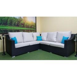Плетеный диван угловой «Pegas», 252 см