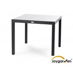 """Плетеный стол """"Milano"""", 90х90 см, цвет черный"""