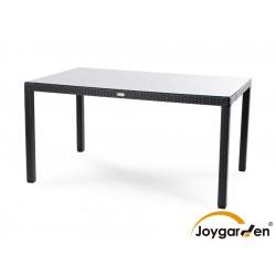 """Плетеный стол """"Milano"""", 150х90 см, цвет черный"""