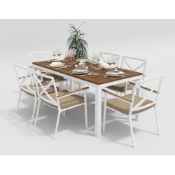 Садовая мебель «Bella & Calma» 180 beige