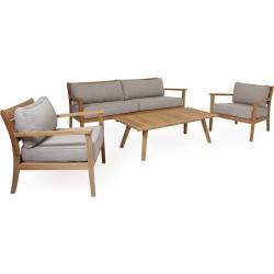 """Мебель из тика """"Chios"""", кофейная группа"""