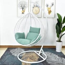 "Подвесное кресло ""AFM-168A-L White/Green"""
