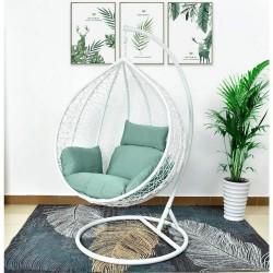 "Подвесное кресло ""AFM-168A-XL White/Green"""